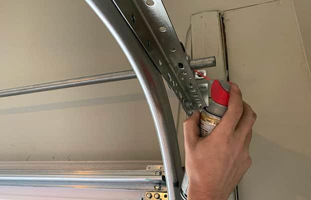 Lubricating Garage Door Parts