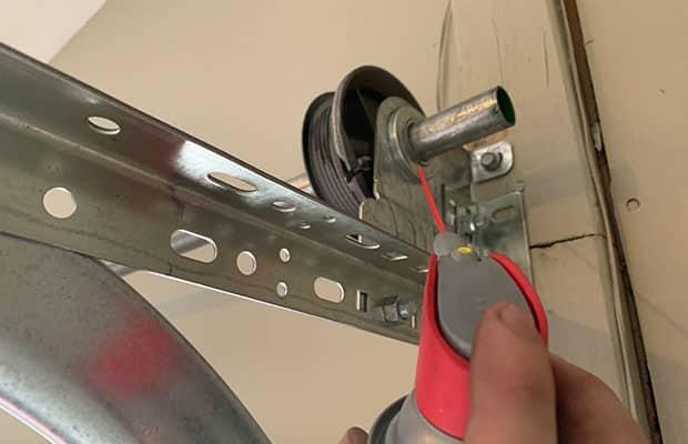 Lubricating Garage Door Pulley