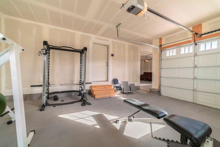 Garage Gym Setup