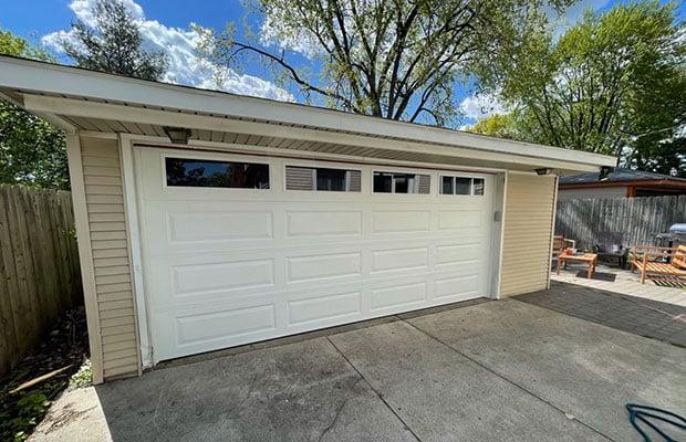 White Garage Door Repair in Rockford MI
