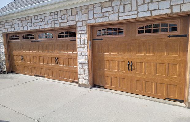 Brown Garage Doors in Rockford MI