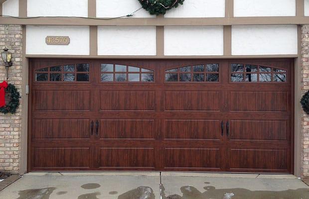 New Garage Door Installed by Garage Door Company in Grandville MI