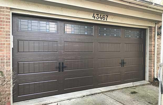 Brown Garage Doors in Grandville MI